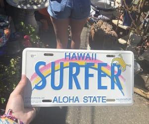 beach, california, and girl image