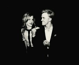 dramione, harry potter, and emma watson image