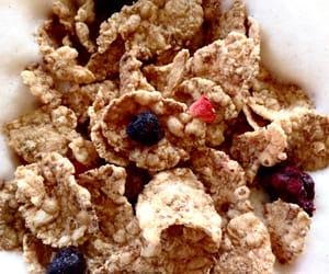 blackberries, breakfast, and milk image