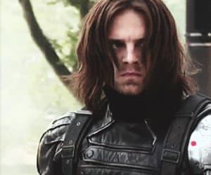 gif, Marvel, and sebastian stan image