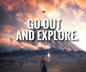explore, inspiration, and quote image
