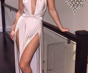 dress, model, and formal image