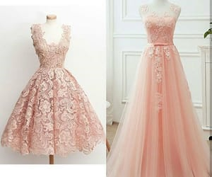 dress, gold rose, and dresses image