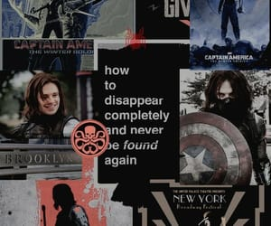 Marvel, wallpaper, and winter soldier image