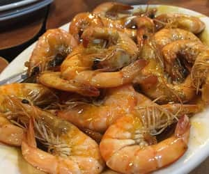 butter, seafood, and prawns image