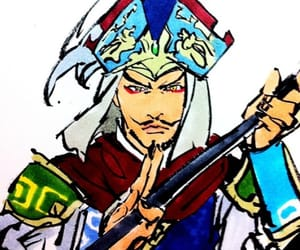 anime, drawing, and dynasty warriors image