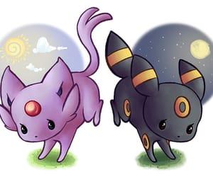 sun, pokemon, and umbreon image