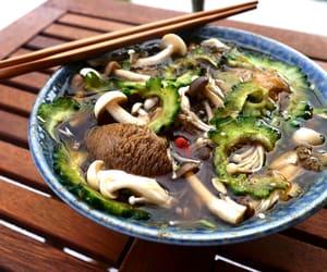 food, soup, and vegan image