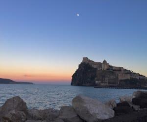italia, castle, and moon image