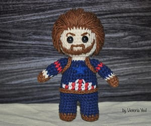 captain america, crochet, and superhero image