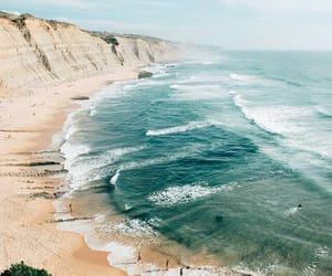 beach, ocean, and travel image