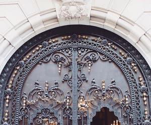 aesthetic, doorway, and door image