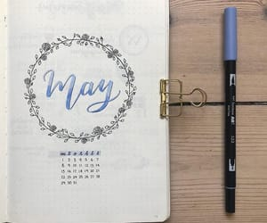 blue, creative, and flowers image