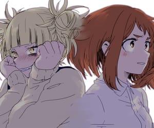 anime, anime girl, and my hero academia image