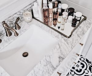 bathroom, beauty, and cosmetics image
