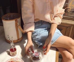 fashion, style, and food image