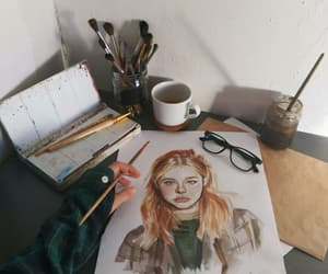 art, white, and instsgram image