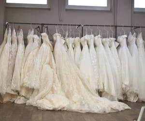 Couture, wedding dress, and dresses image