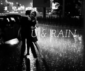 couple, dancing, and rain image