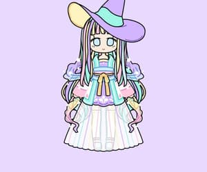 girl, witch, and pastelgirl image