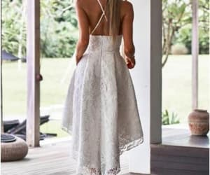 lace dress, homecoming dress, and party dress image
