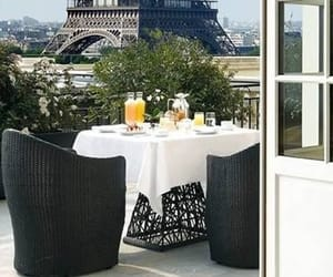 balcon, eiffeltower, and vue image