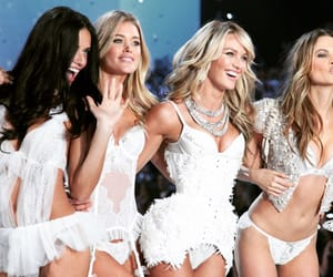 Victoria's Secret, candice swanepoel, and Adriana Lima image