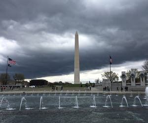d, dark skies, and monument image
