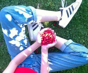 aesthetic, cherries, and healthy image