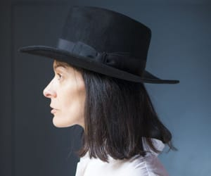 etsy, vintage fedora, and fedora wool hat image