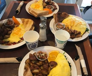 amazing, breakfast, and omelette image