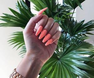 nails, neon, and orange image