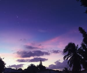 sky and violet image