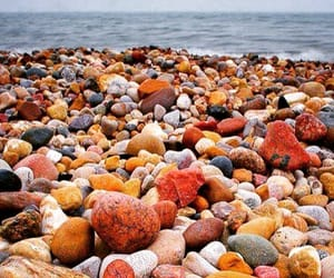 photography, beach, and rocks image