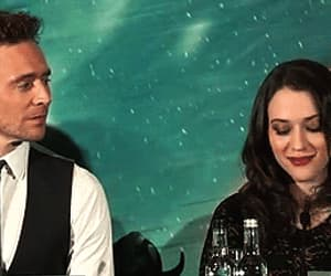 tom hiddleston, Kat Dennings, and loki image