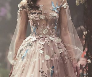 dress, fashion, and haute couture image
