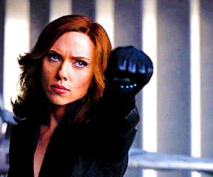 black widow, captain america, and civil war image