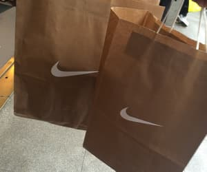 nike, shopping, and bag image