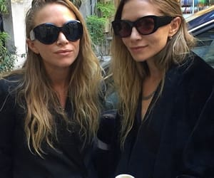 olsen twins, mary kate and ashley olsen, and olsen sisters image