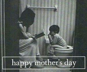 happy, mother, and mother's day image