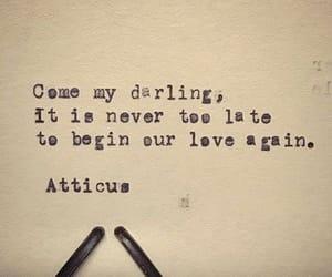 again, atticus, and poet image