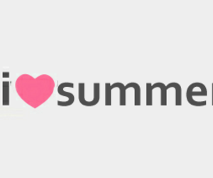 heart, summer, and love image