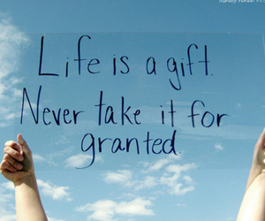 life, quotes, and gift image