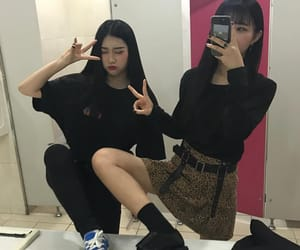 bff, girls, and korean image