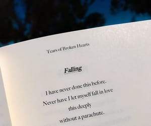 fall in love, falling, and falling in love image