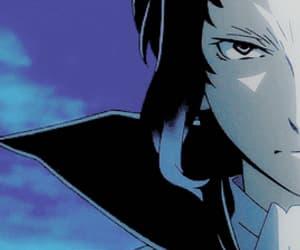 anime, black hair, and gif image