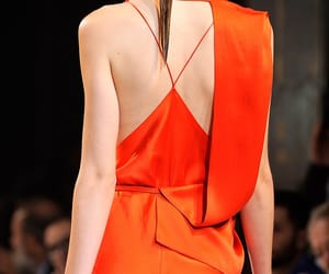 fashion, orange, and stylish image