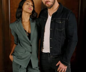 zoe saldana and chris pratt image