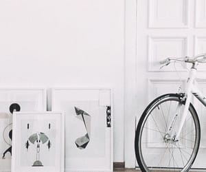 aesthetic, art, and bike image
