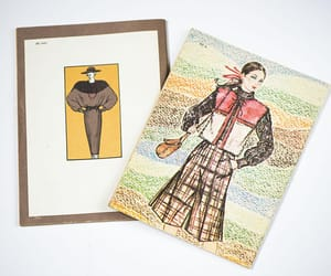 etsy, ussr women fashion, and men soviet fashion image